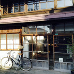 moji - 自転車がいいアクセスですね