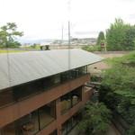 ハイアットリージェンシー 京都 - 部屋の窓からの眺め 奥には京都国立博物館の屋根が。