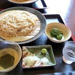 そば・甘味 山の花 - 料理写真:白樺そば(1300円)