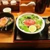 松阪牛麺 - 料理写真:松阪牛鉄板焼きガーリックライス&松阪牛麺