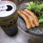 ザ・ババリアン・ペーター・タテシナ - ソーセージは、諏訪の地ビールと一緒にいただきました