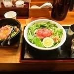 松阪牛麺 - 松阪牛鉄板焼きガーリックライス&松阪牛麺