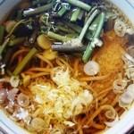 駒 - 山菜そば