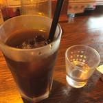 グリル&洋食 アガペ - コーヒー アイス 100円 食後価格