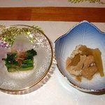 湯倉温泉 鶴亀荘 - 夕食(2005年6月)