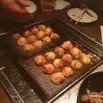 蛸のつぼ - たこ焼き完成〜☺︎