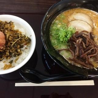 うまか軒 - 料理写真:ラーメンセット(780円)