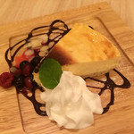 Cheese Table - 特製チーズケーキ