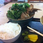 知花食堂 - 料理写真:骨汁