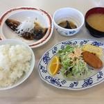札幌市建設局下水道庁舎食堂 - 鯖の味噌煮