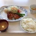 札幌市建設局下水道庁舎食堂 - タンドリーチキン