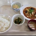 札幌市建設局下水道庁舎食堂 - マーボー定食