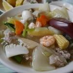 南国飯店 - メインは八宝菜、酢豚にも変更可能です