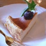 味珈豆結 - ベイクドチーズケーキ 350円