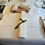 Cuisine Franco-japonaise Matsushima - テーブルセット