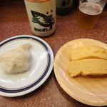 三葉寿司 - えんがわ&玉子