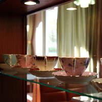 小手穂 - きれいなカップが並んでおります。