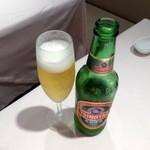 シェフス - 青島ビール小瓶680円