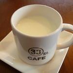 サンサンカフェ - ホットミルク