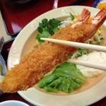 えび三郎 - 重すぎて、箸を持つ指が震えますよ(笑)