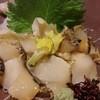 銀閣寺 貝 - 料理写真:真つぶ貝の造り