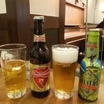 エガオノダイニング CIRCLE - ワールドカップラベル瓶ビール