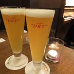 エガオノダイニング CIRCLE - ベルギー生ビール:500円