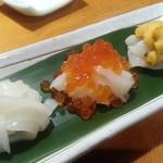 美加久 - イカのお刺身