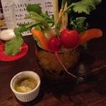 酒場 en-zo - 旬野菜のバーニャカウダ