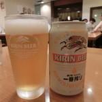 頑者 - ビール(400円)