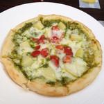 チーズケーキ CAFE MAGY - ピザセット 1100円