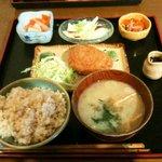 レストラン食茶房むうぷ - 野菜コロッケ定食
