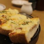 エンリコ - モーニング、ピザトースト
