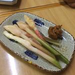 炭火焼 とん公 - 谷中生姜