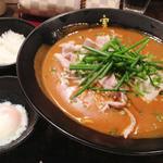 かれー麺 実之和 - 赤いカレー麺