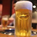 げんかや - サッポロ生ビール