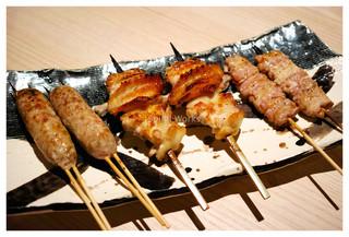 本家あべや 静岡店 - 比内鶏の串焼き2(各自好きなものをオーダー)