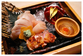 本家あべや 静岡店 - 比内鶏のお刺身