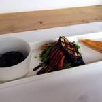 リッテンプラス - 料理写真:前菜三種盛り合わせ