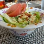 cafe向日葵 - セットのサラダ