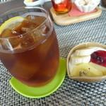 cafe向日葵 - セットのドリンク
