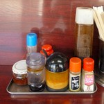 いずみ食堂 - 卓上調味料