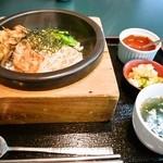 28958013 - 焼肉ピビンバ・アイスコーヒーセット¥500