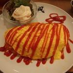 おやつカフェ 菓頬 - 美味しいけどお腹いっぱいだったの(´・ω・`)