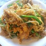 シャンウェイ - 青山シャンウェイ(豚肉と玉子とニラ炒め)