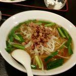 福龍園 - 料理写真:台湾ラーメン