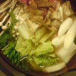 居酒屋 ちとも - 和牛と油かすのハリハリ鍋