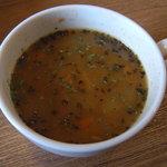 キク - 具だくさんスープ