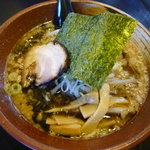 麺屋花形 - こってり醤油ラーメン680円