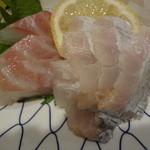 旬魚や 魚いち - マダイとタチウオ